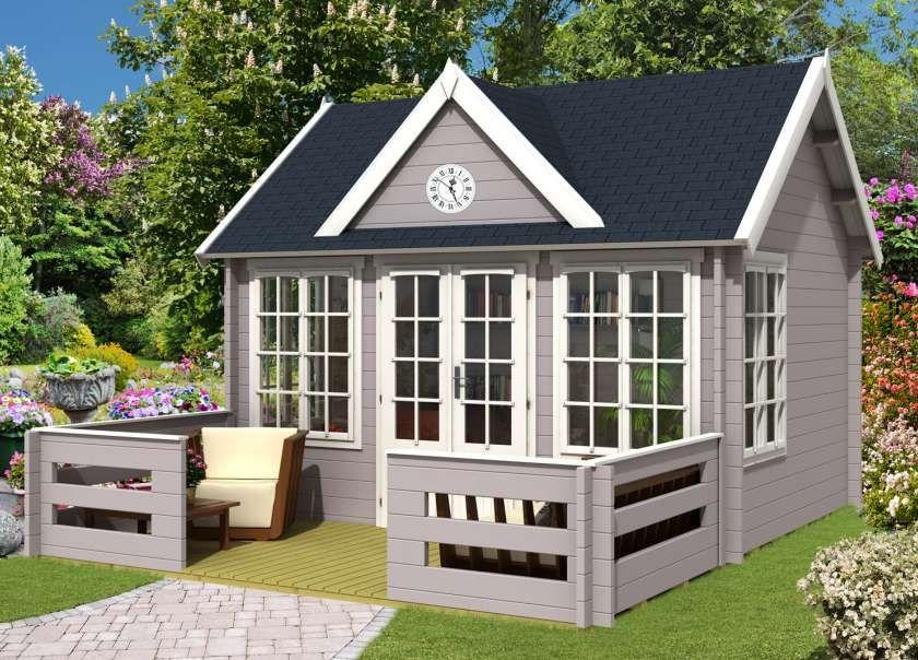 Alpholz Gartenhaus Amsterdam ISO Gartenhaus, Design