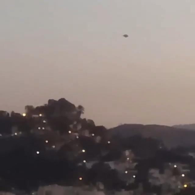 Photo of UFO sighting in Brazil