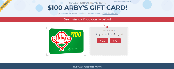 Get 100 To Eat At Arby S Now Best Gift Cards Free Gift Cards Gift Card
