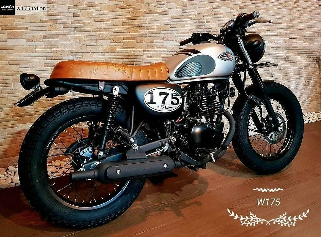 Kawasaki W175 Custom おっふ Pinterest Custom Motorcycles