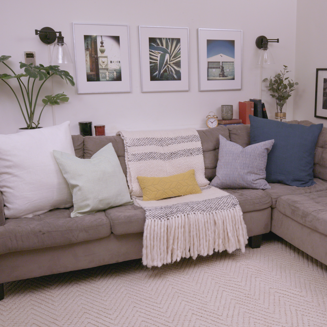A Living Room Refresh With Some Seriously Smart Storage Solutions
