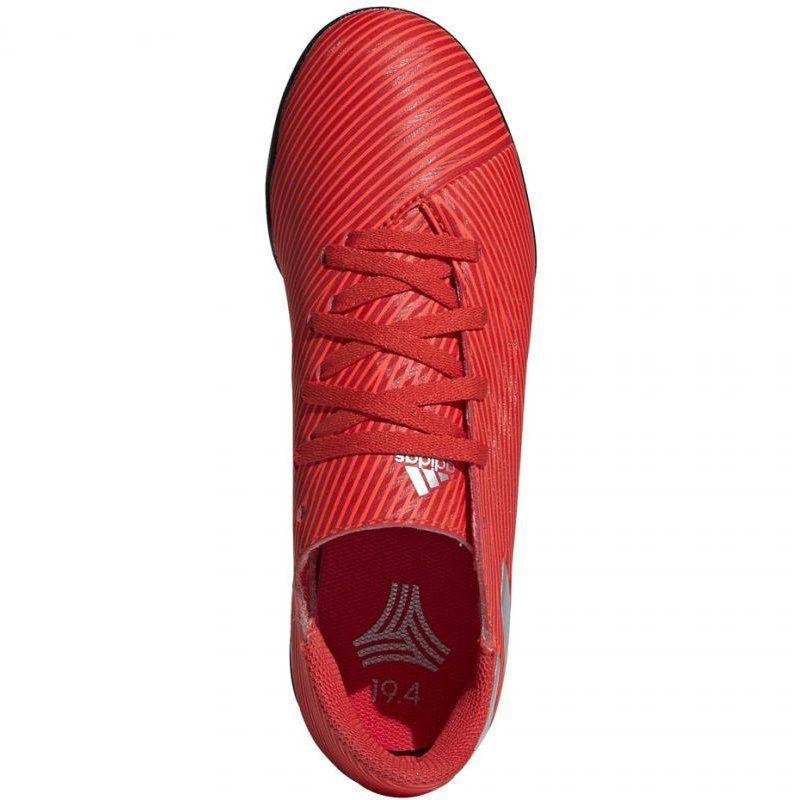 Buty Pilkarskie Adidas Nemeziz 19 4 Tf Jr F99935 Czerwone Czerwone Football Boots Mens Football Boots Indoor Shoe