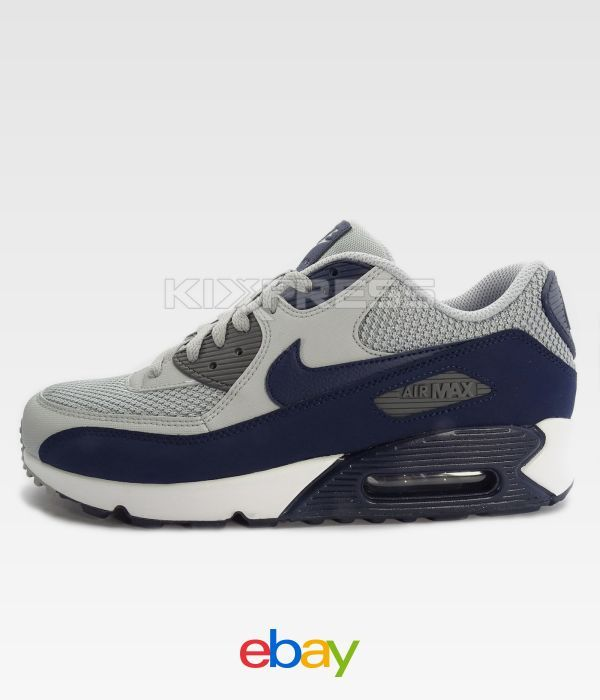 innovative design bda14 daf0f ... clearance nike air max 90 essential 537384 064 nsw running wolf grey  binary b938e fc31e