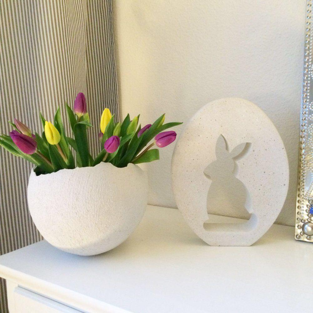 ostern 2016 ideen rund ums haus ostern ostern 2016 und beton deko ostern. Black Bedroom Furniture Sets. Home Design Ideas