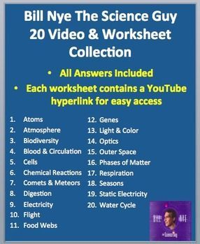 here is my collection of 20 bill nye the science guy video worksheets includes the answer key. Black Bedroom Furniture Sets. Home Design Ideas