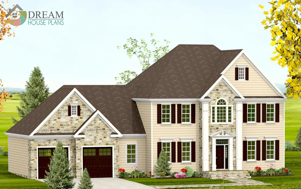 Simple Yet Luxury Southern House Plan Custom Options Like A Walkout Basement Wrap Around Porch Butl Farmhouse Plans Mediterranean Homes Craftsman House Plans