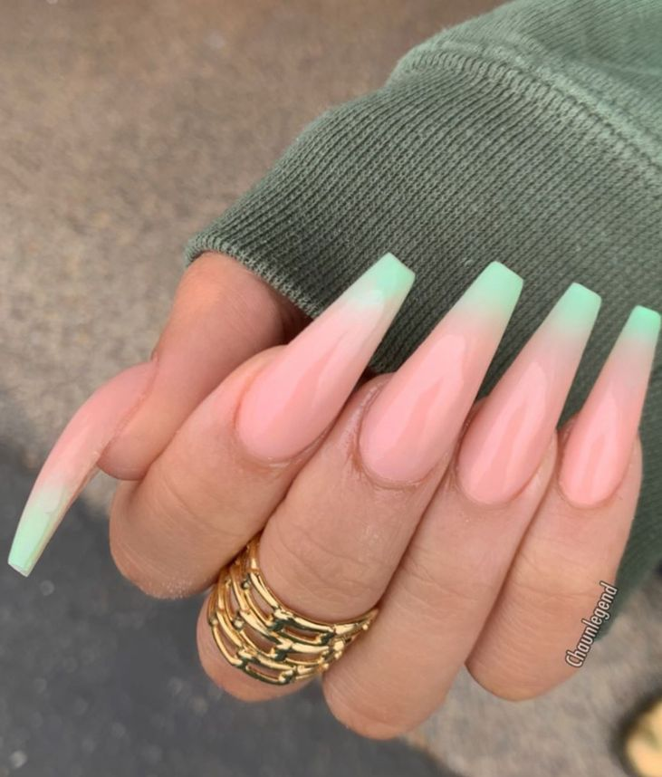 63 Fabulous Acrylic Coffin Nails Design This Summer - #coffinnails