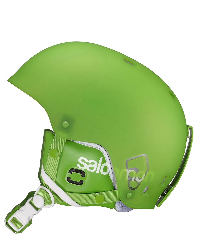 Salomon Ski- und Snowboardhelm Brigade green matt