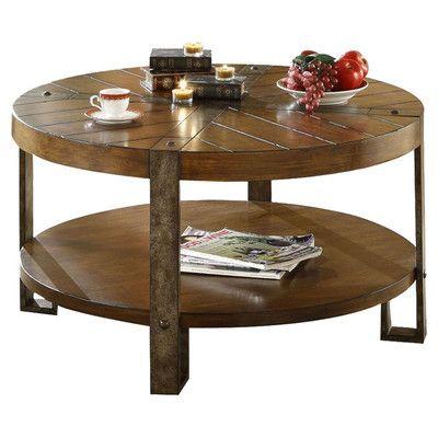 Riverside Furniture Sierra Round Coffee Table U0026 Reviews | Wayfair Supply