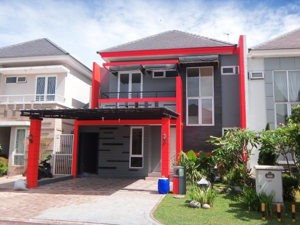 Atap Rumah Warna Merah