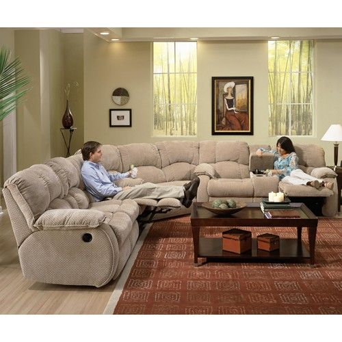 Southern Motion Continental Reclining Sectional Royal Furniture