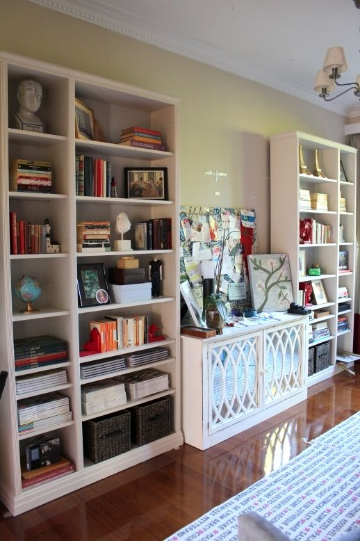 Ikea Hack Inspiration for Billy Bookcases Shoestring