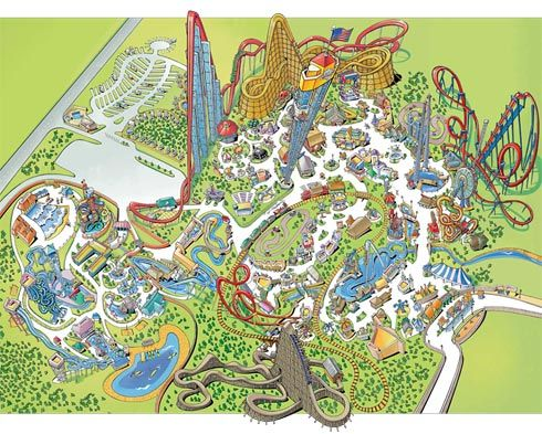 Worlds Of Fun It S What S For Breakfast Tomorrow Worlds Of Fun Ocean Fun Dream Vacations