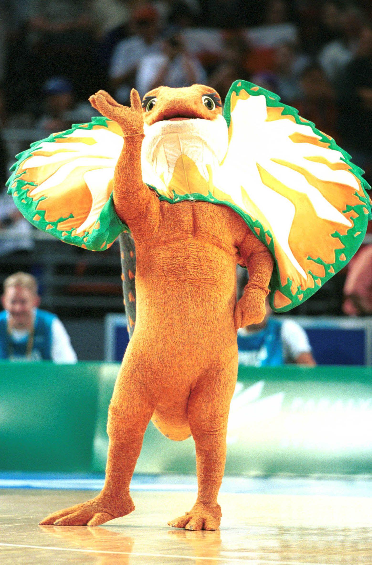 Sydney Paralympic Mascot Lizzie The Frilled Neck Lizard Summer OlympicsMy ChildhoodSydneyKawaiiKawaii CuteOlympic Games