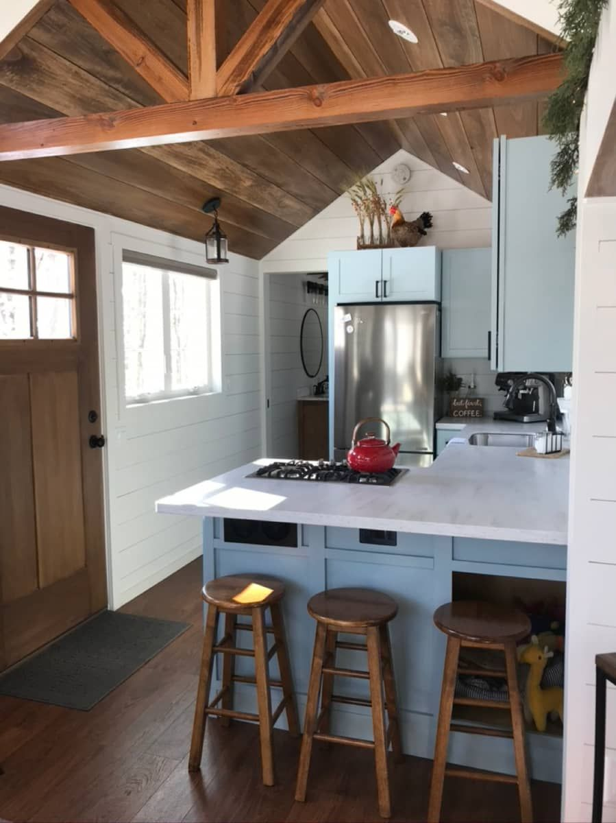 Living Big In A Tiny Tiny House For Sale In Binghamton New York Tiny House Listings In 2020 Tiny House Kitchen Tiny House Storage Tiny House Listings