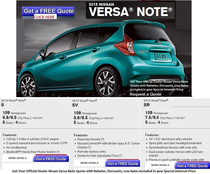 Buy New 2015 Nissan Versa Note In Toronto Canada For More Information Click On Http Morningsidenissan Ca Nissan Versa Nissan Nissan Sentra