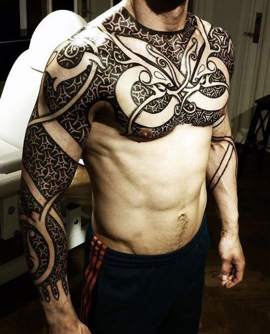 70 Viking Tattoos For Men