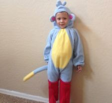 Boots The Monkey Costume (~2T+) Dora The Explorer
