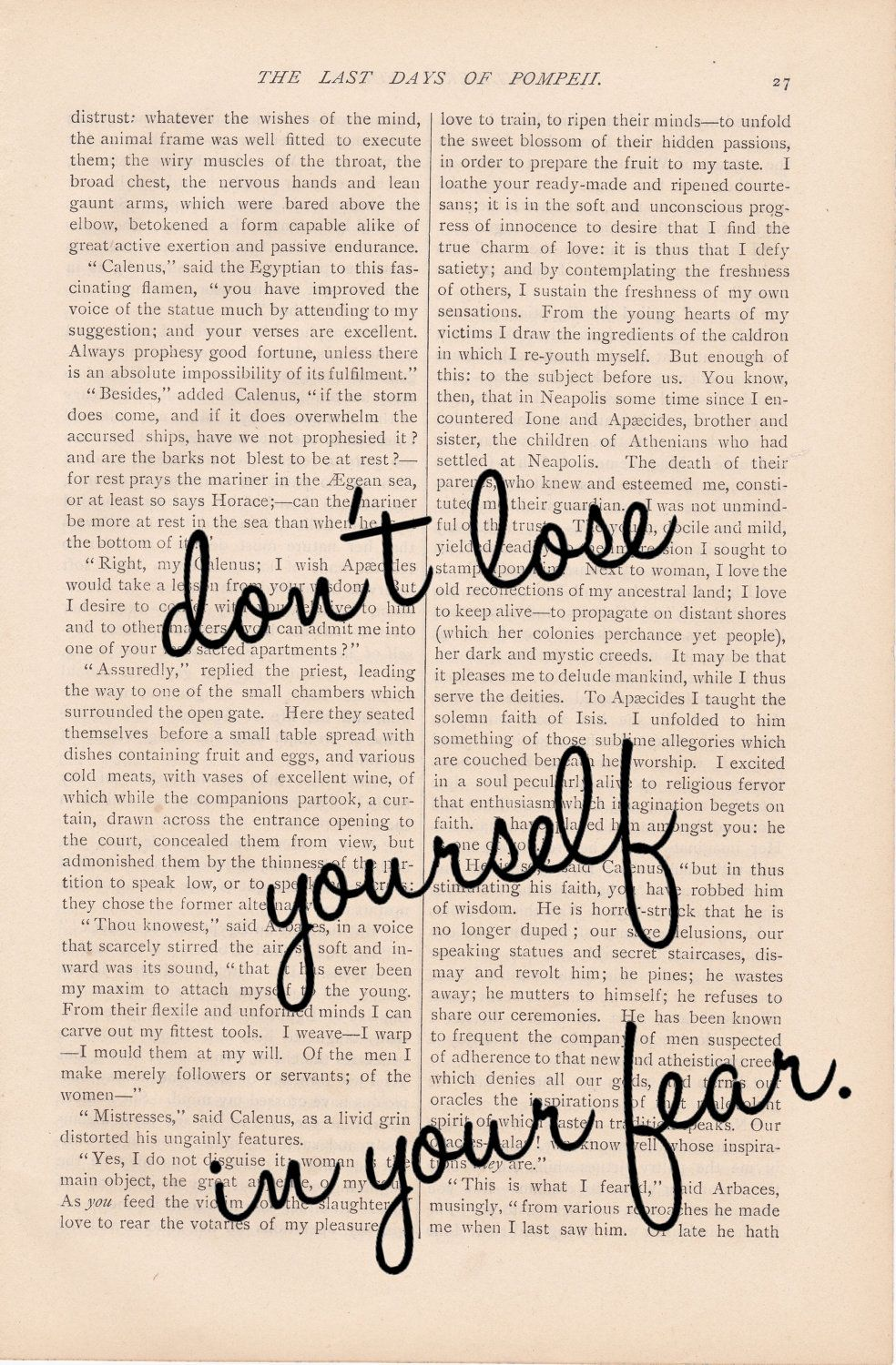 Don T Lose Yourself In Your Fear Quotes Inspirational Quotes