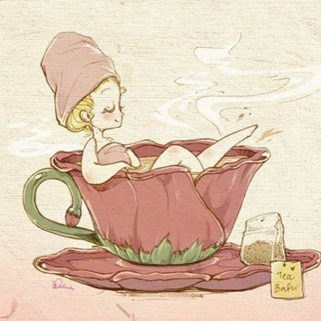 мультяшные картинки к чаю татуировок