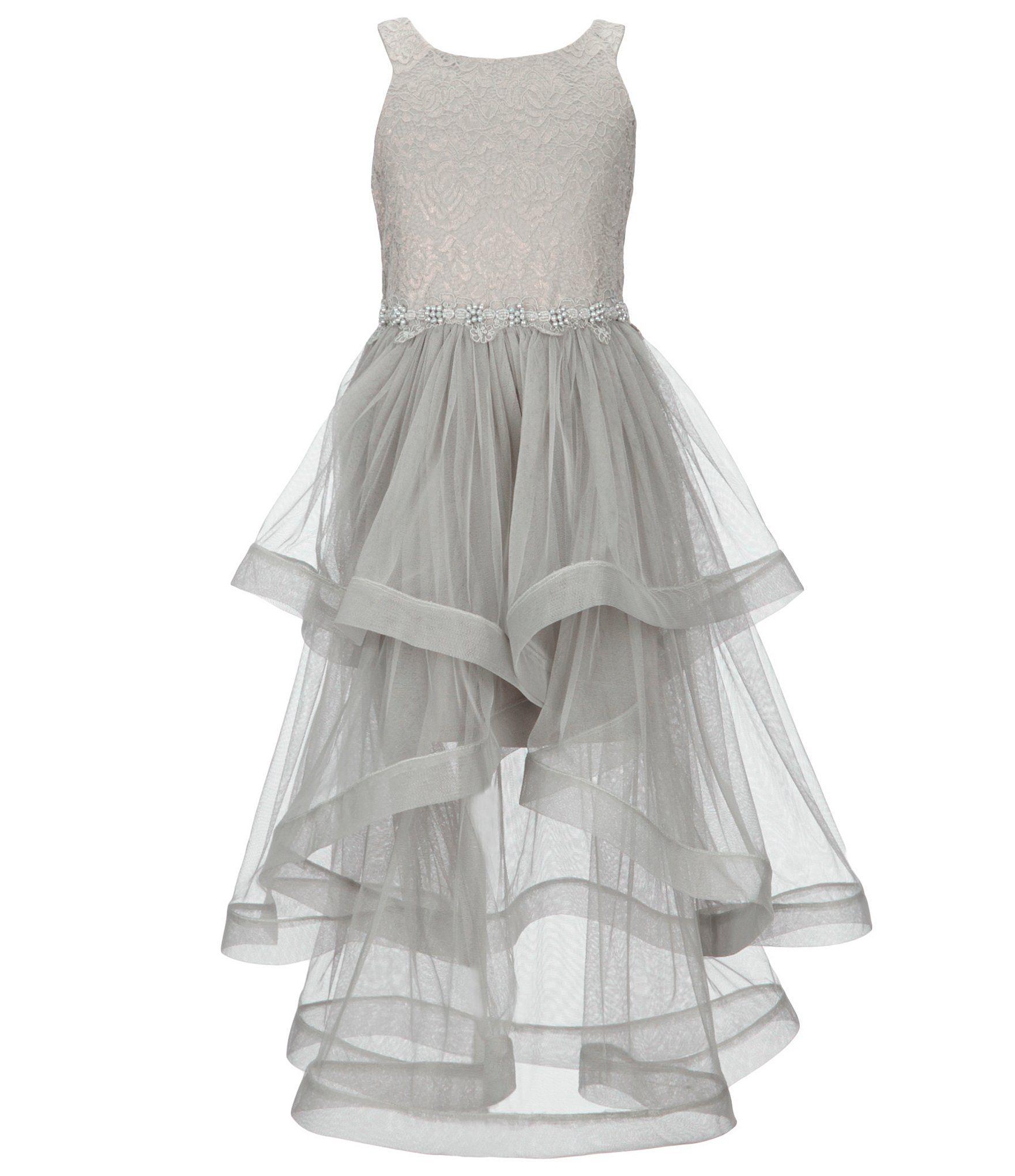 eb9c3abb4 Bonnie Jean Big Girls 716 LaceMesh FitAndFlare Dress #Dillards   new ...