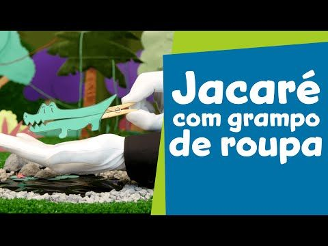 SuperHands: Jacaré com Grampo de Roupa | Ep 03 - YouTube