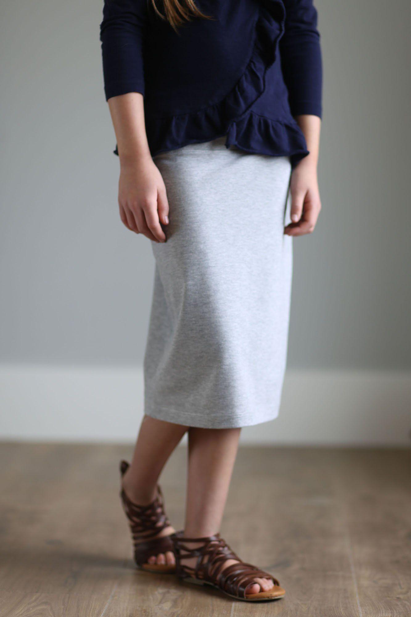 8fdf43394c Girls Below The Knee Skirts – DACC
