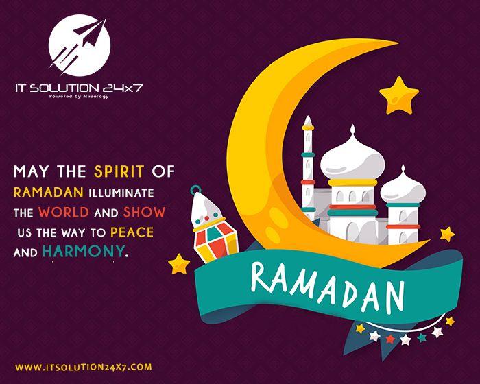 Ramadan Mubarak to Muslims of the whole World... May Alla