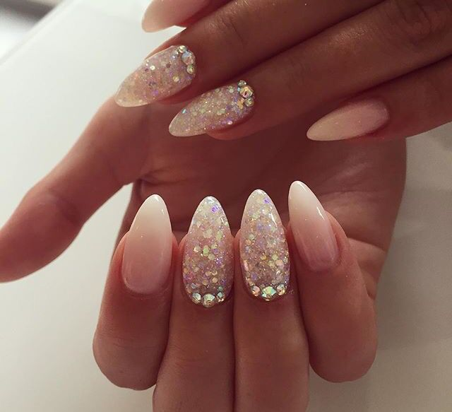 Babyboom With Soft Pink And French Tip And North Pole Accent Nails