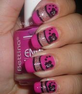 Photo of Double French Nail Art Gallery from NAILS Magazine – Double French …