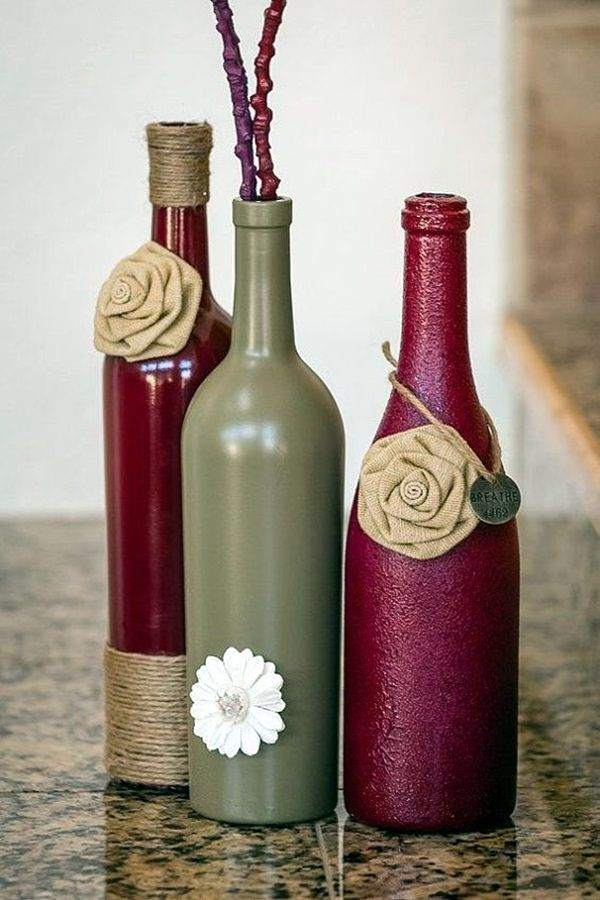 60 cool wine bottles craft ideas wine bottle crafts bottle and wines cool wine bottles craft ideas 20 solutioingenieria Images