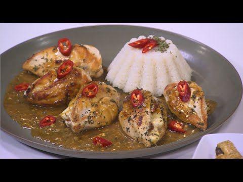 دجاج محشي جبنة حلوم سالي فؤاد One Pan Meals Recipes Food