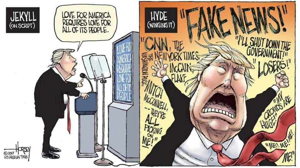 Image result for cartoon pics of unfit trump