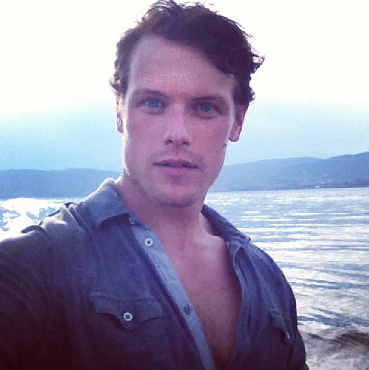 These pictures prove why Sam Heughan is one of the sexiest men in