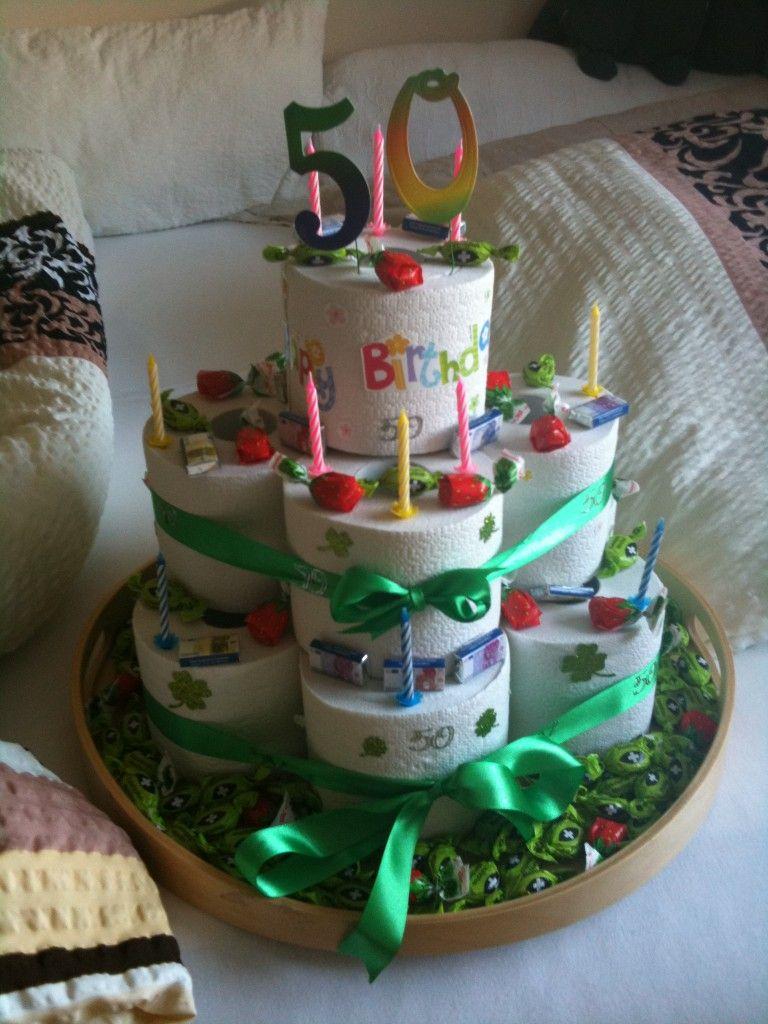 Geburtstagstorte Aus Klopapier