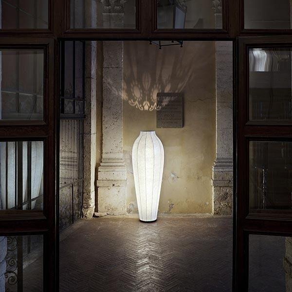 Chrysalis Von Flos Moderne Bodenleuchte Mit Diffusem Licht