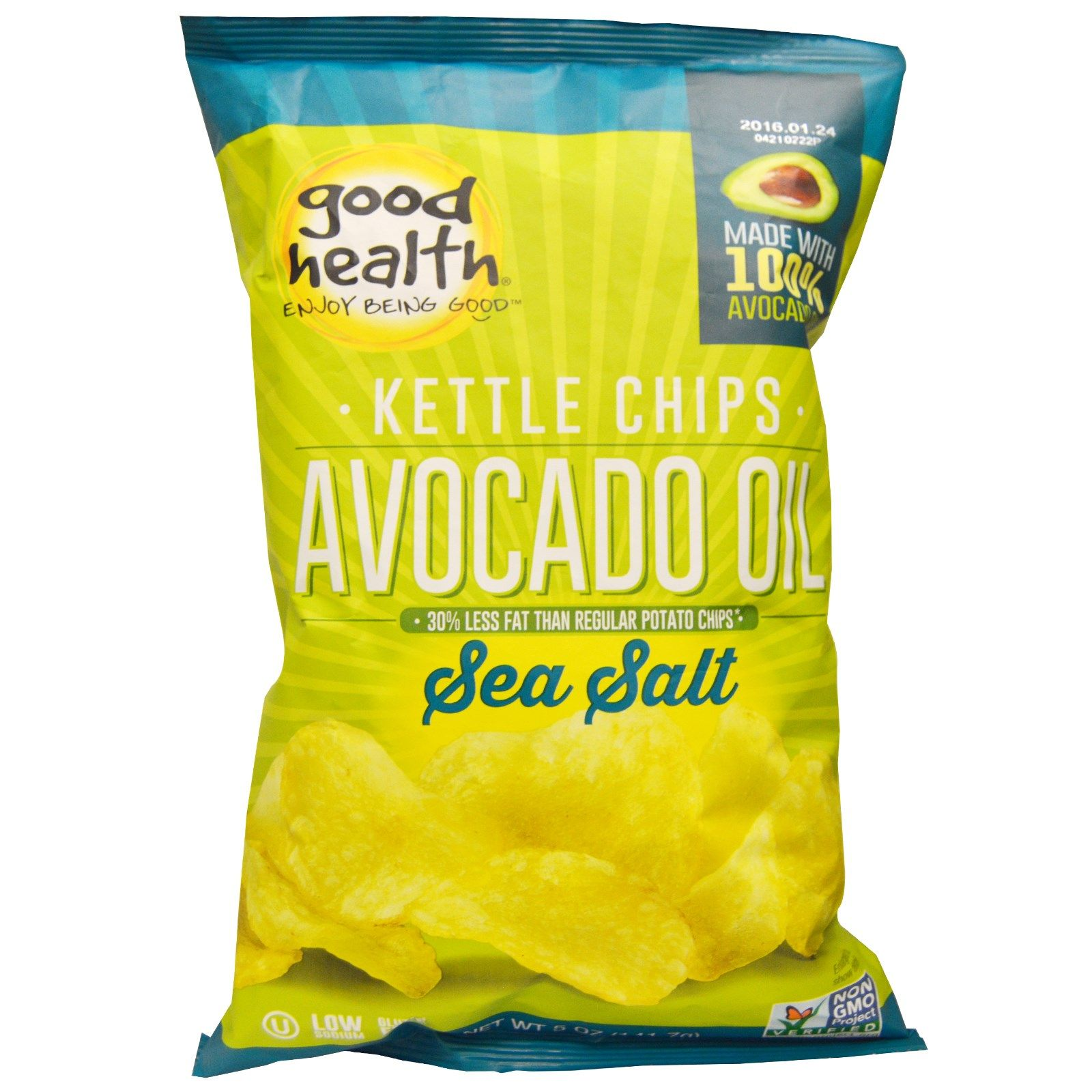 For a Treat, Potatoes, Avocado Oil, Sea Salt... that's it