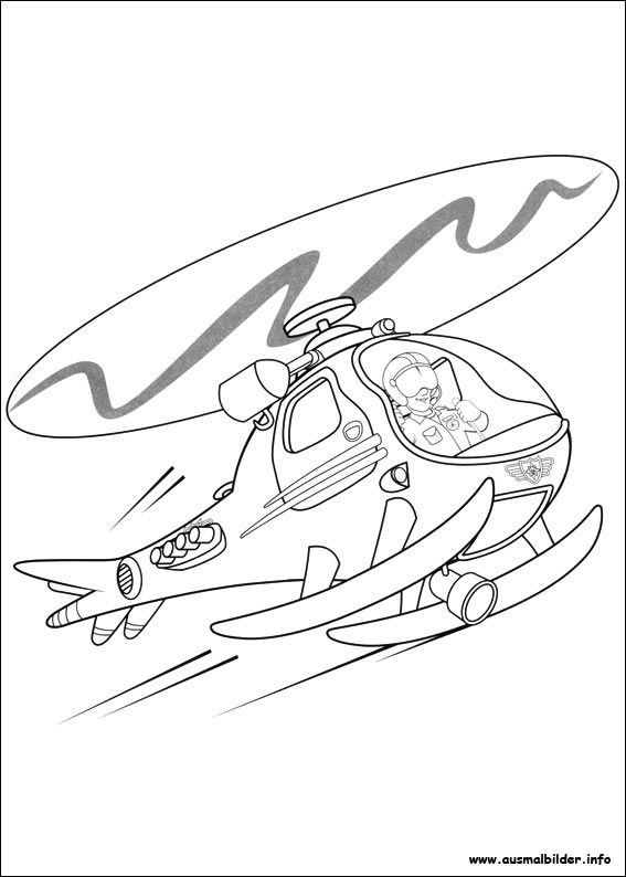 Feuerwehrmann Sam malvorlagen   Cool coloring pages ...