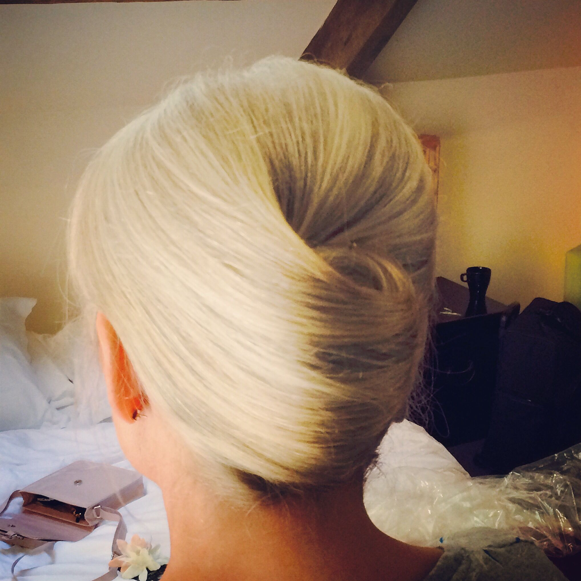 Beautiful French Pleat Done On The Mother Of The Bride At