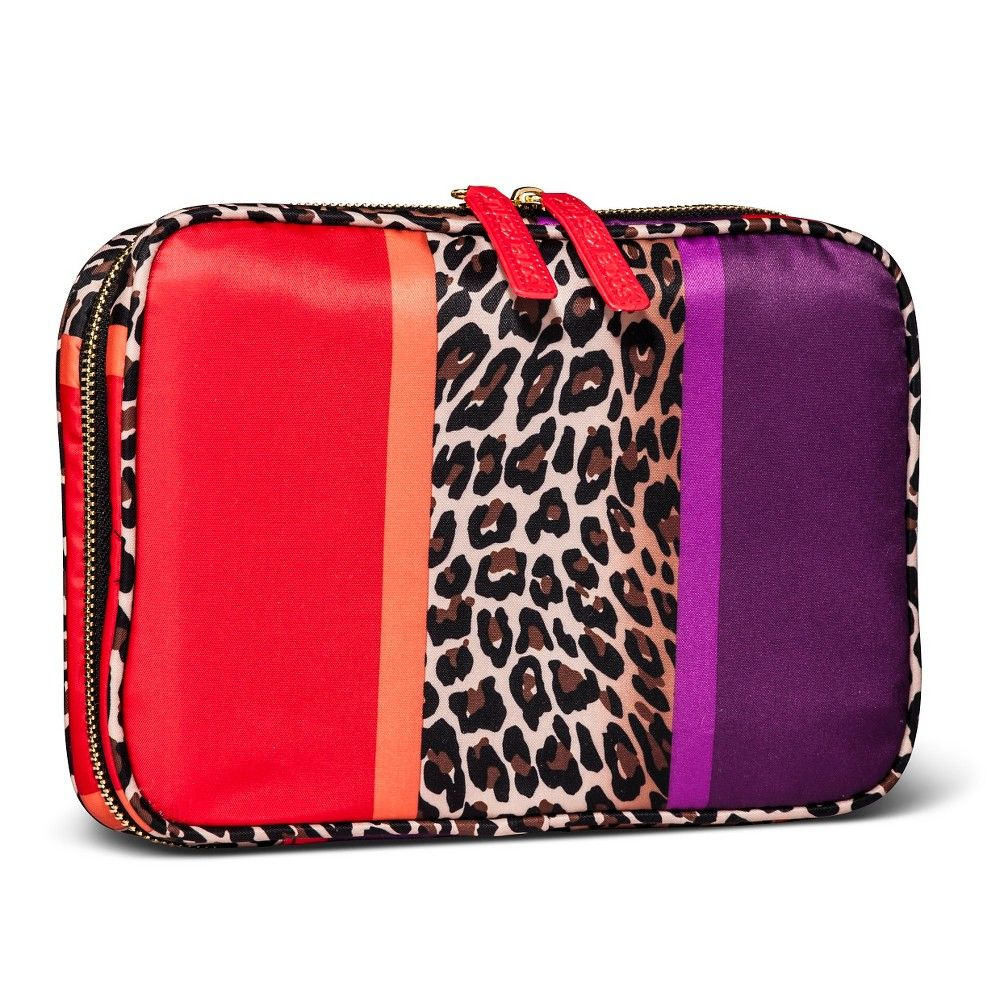... Sonia Kashuk All Over Zip Around- Cheetah Sonia kashuk and best cheap  50909 e7c74  Sonia Kashuk™ 2pc Train Case Makeup Bag Set - Black ... a73e51c459