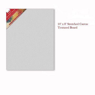 Artists Plain Blank Canvas Board Textured White 8 Quot X 10 Quot Framed Art Painting Canvas Texture Canvas Frame Plain Canvas