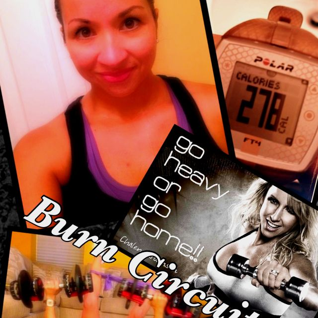 Muscle Burns Fat Baby!!! Coach Diana in the house!!! ;) Coachdianak@gmail.com
