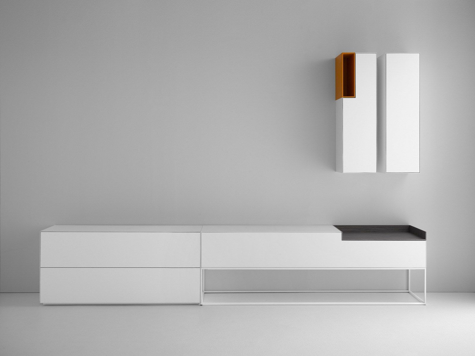 lacquered mdf sideboard inmotion collection by mdf italia. Black Bedroom Furniture Sets. Home Design Ideas