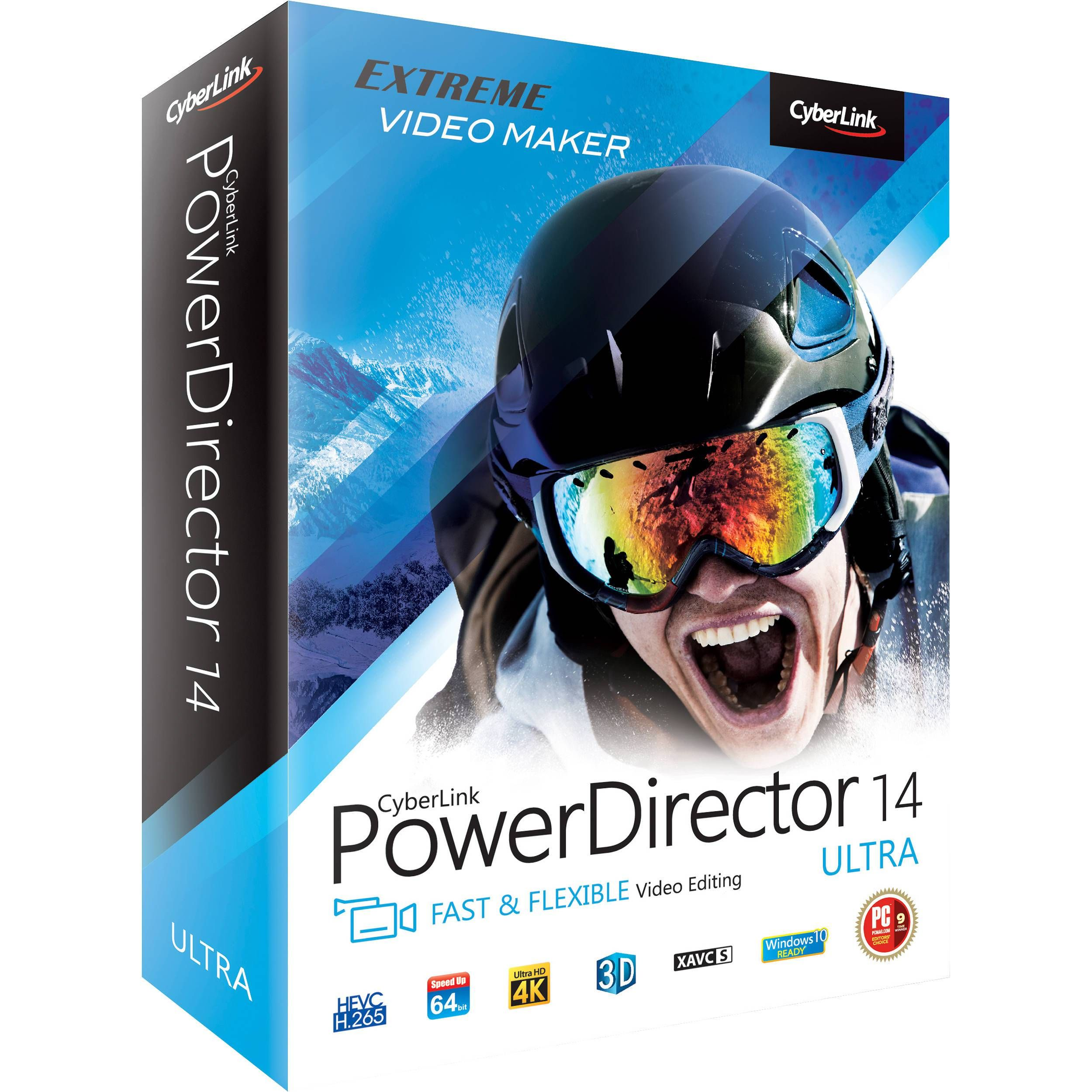 download the latest cyberlink powerdirector 14 crack full free download with complete activation cyberlink powerdirector