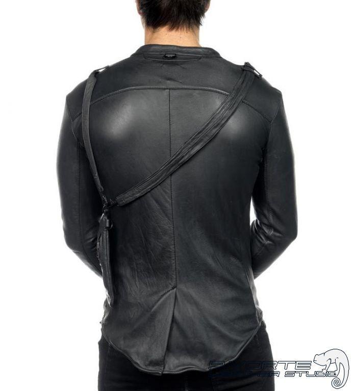 8e24b402b70 Дизайнерская мужская кожаная рубашка - Cordoba (Кордоба)