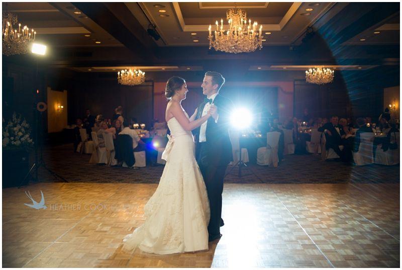American Club Wedding Photo By HeatherCookElliott Dress Vera Wang