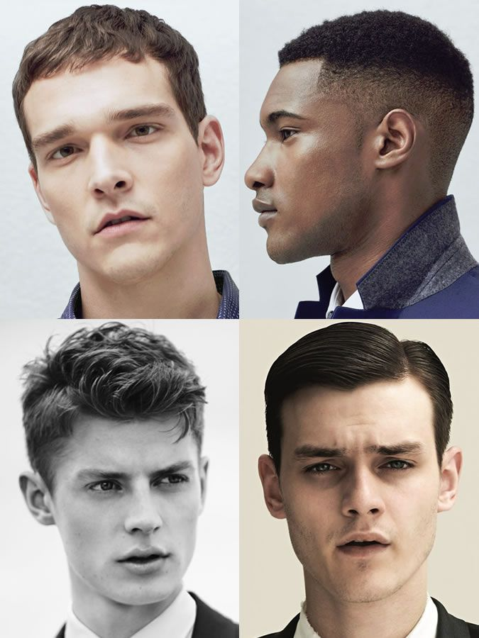 Mens Hairstyleshaircuts For Square Face Shapes Face Shape