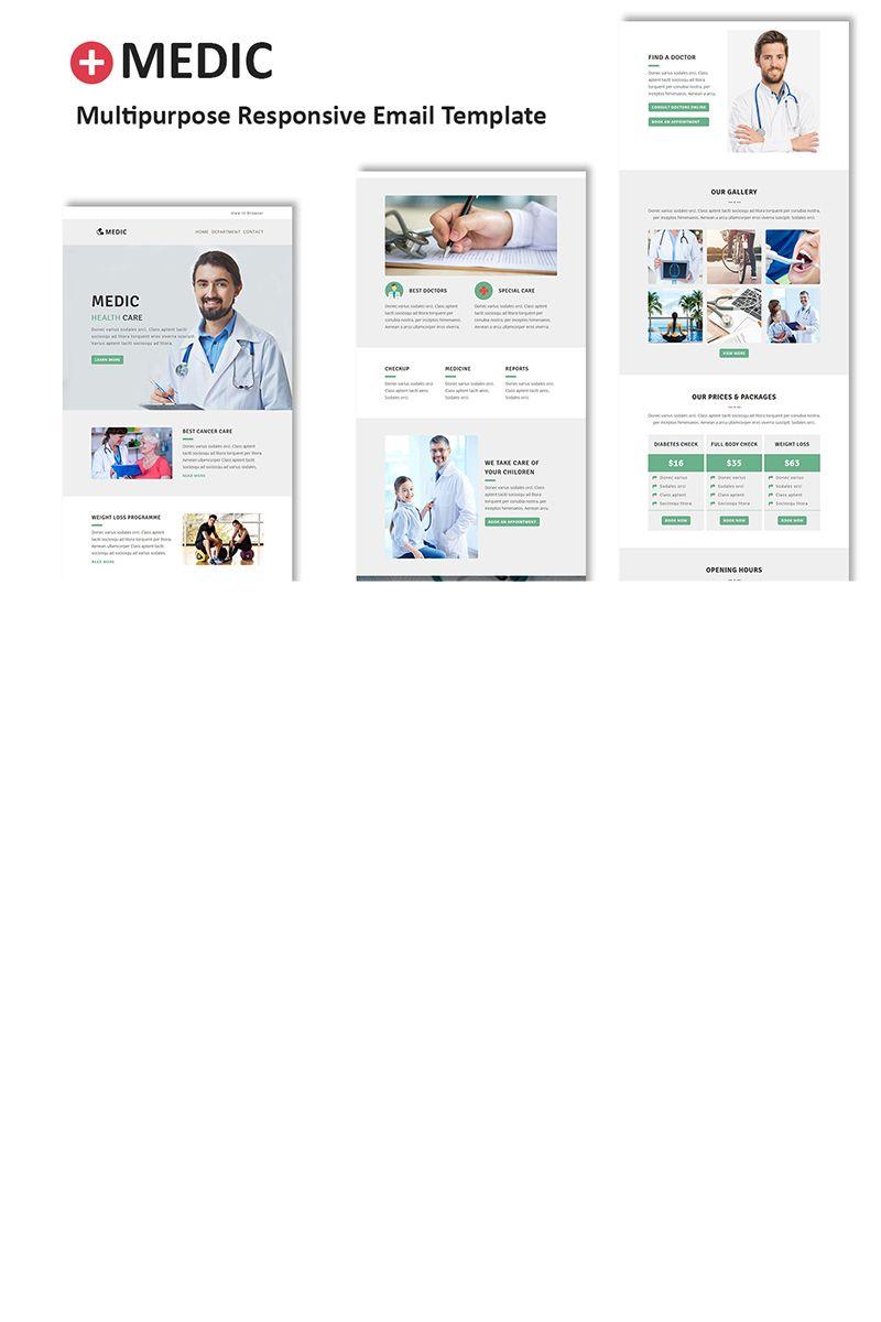 medic multipurpose responsive newsletter template newsletter
