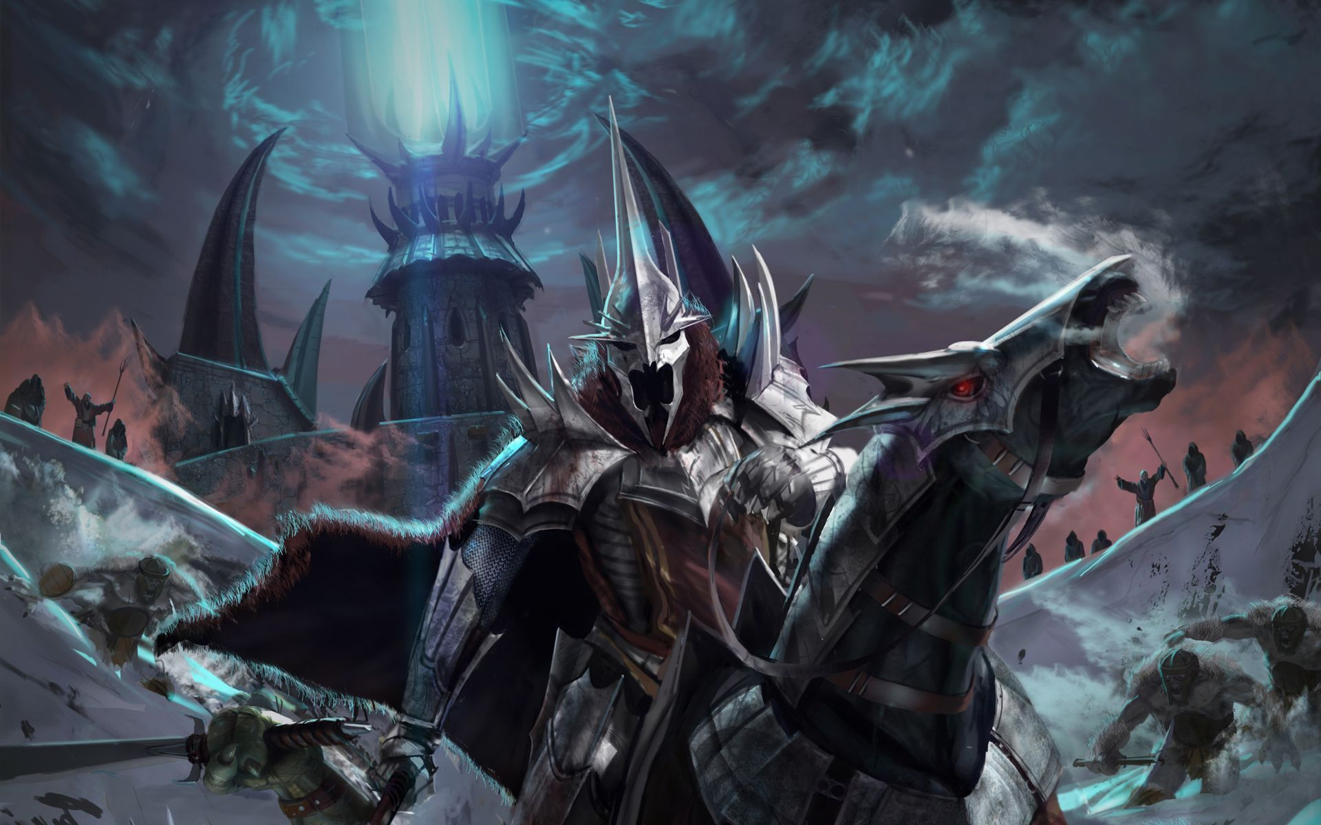 The Witch King Of Angmar Return Of The King Wallpaper 8921