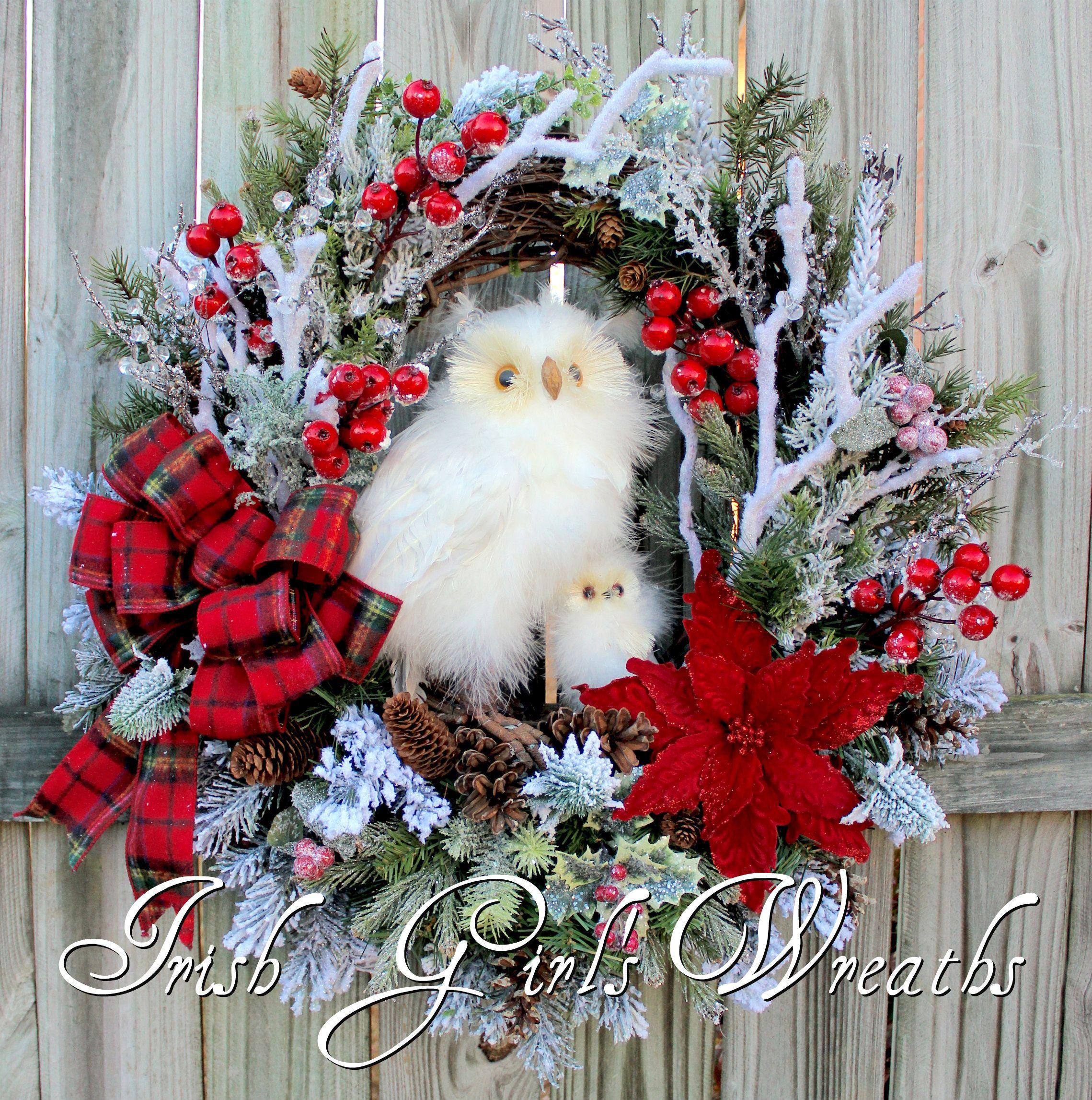 Photo of Owls – Irish Girl's Wreaths